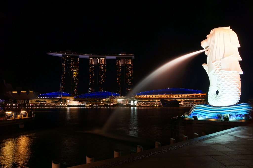 Merlion - Marina Bay Sands